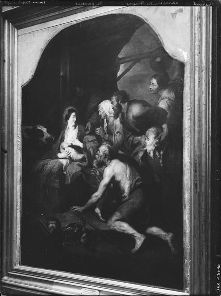 Peinture : l'Adoration des bergers