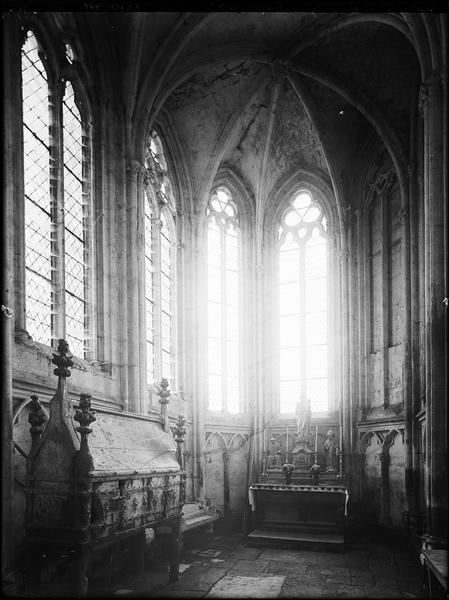 Intérieur : chapelle saint Gilles, côté nord
