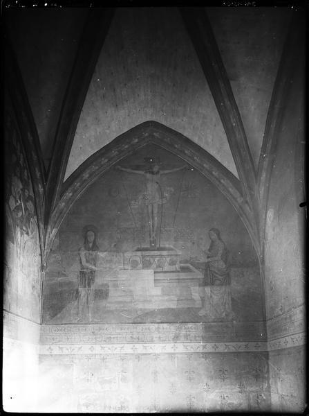 Peinture monumentale : la Fontaine mystique