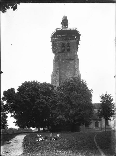 Le clocher côté sud