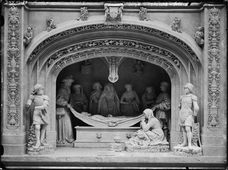 Intérieur, groupe sculpté : Mise au tombeau