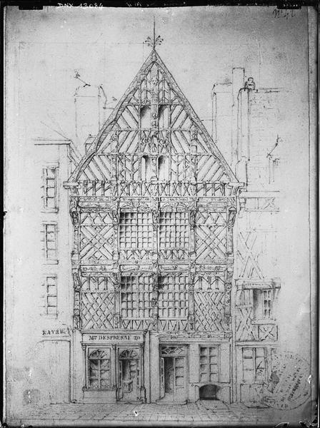 Dessin : façade