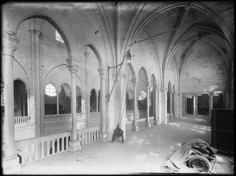 Intérieur : galerie sud du triforium