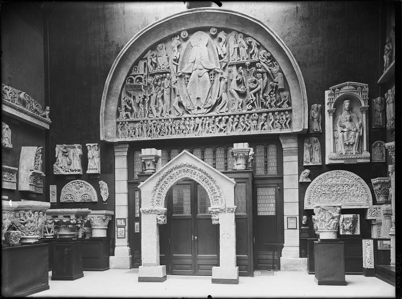 Moulage : tympan du portail ouest