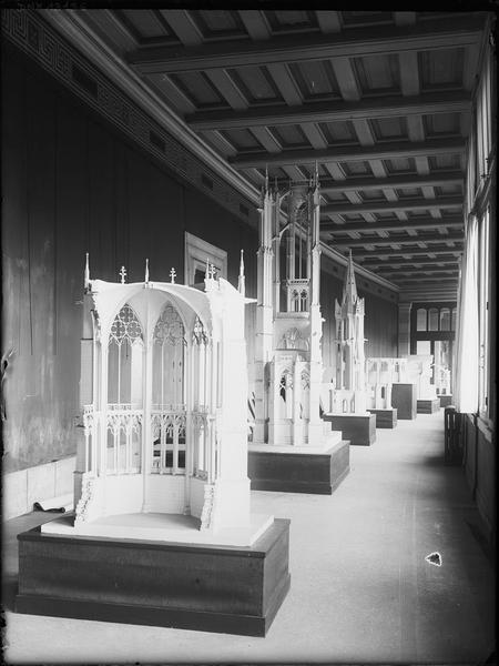 Maquettes d'architecture : abside