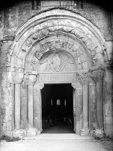 Portail ouest avant restauration