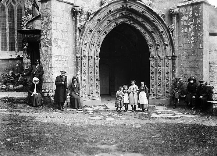 Porche sud, fin XVème siècle