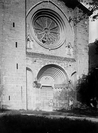 Façade ouest de l'ancienne cathédrale