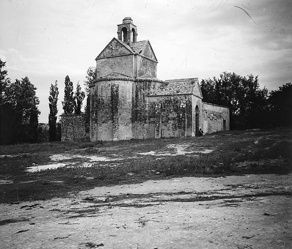 Chapelle Sainte-Croix: façade