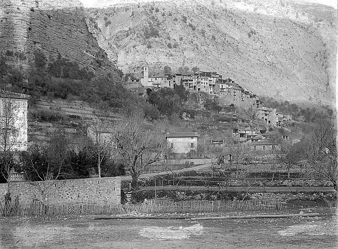 Le village de Chouel-de-Breuil : vue d'ensemble