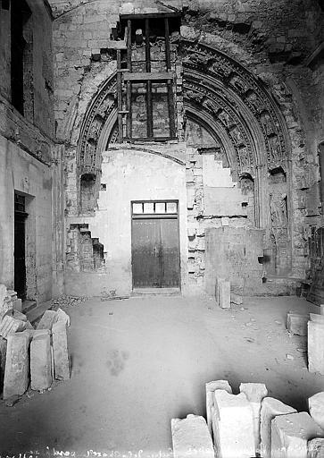 Chapelle pontificale: entrée