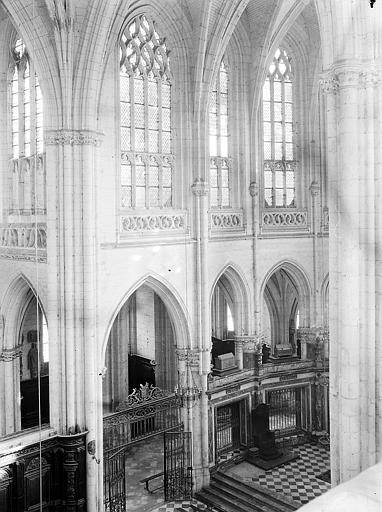 Transept vu de la tribune