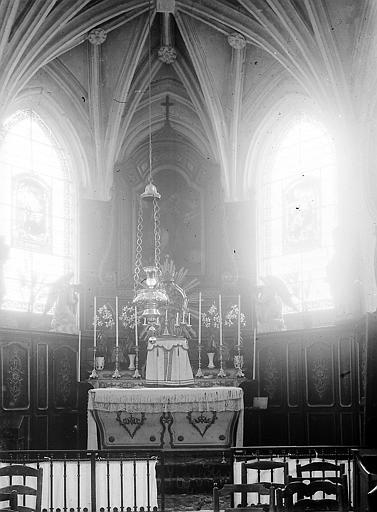 Choeur: autel