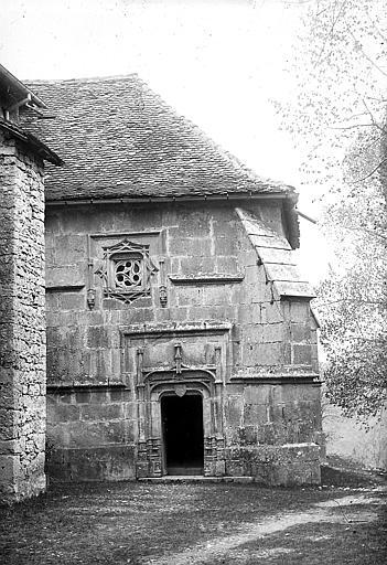 Chapelle nord: façade ouest