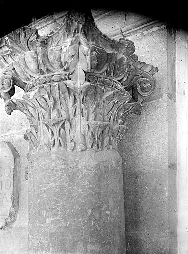 Chapiteau de colonne