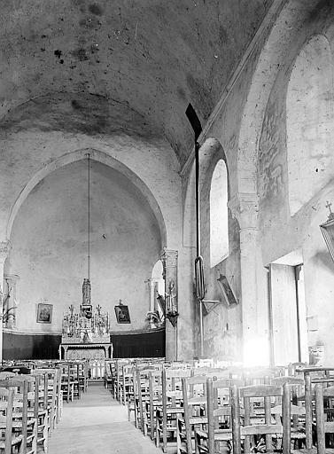 Choeur et nef de l'édifice