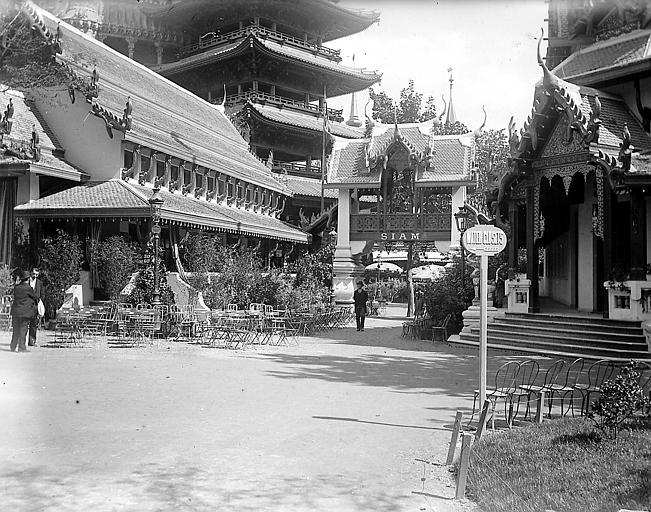 Pavillon du Siam