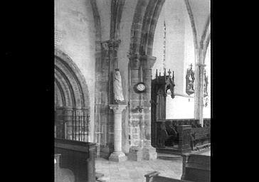 Pilier nord de la croisée du transept