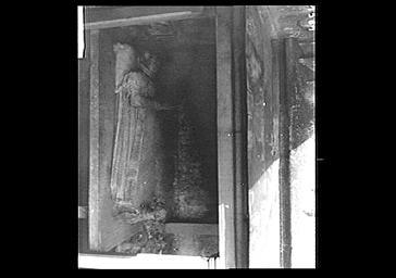 Statue funéraire en marbre blanc de Madeleine le Roy Chavigny, femme de Jean de Rouville, morte en 1558,
