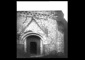 Façade ouest, portail