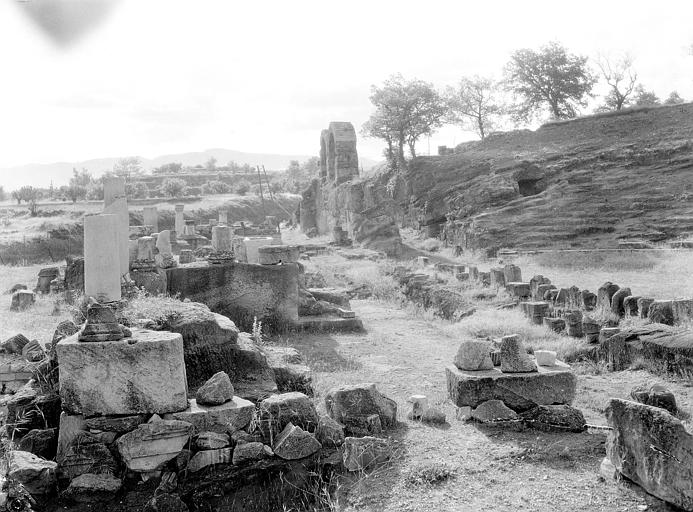 Détail des ruines