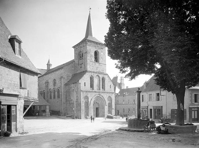 Abbaye de Bénédictins puis de Mauristes et église abbatiale puis paroissiale Saint-André, Saint-Léger