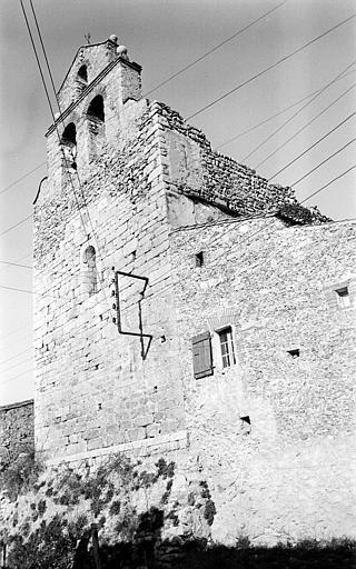Façade ouest et clocher