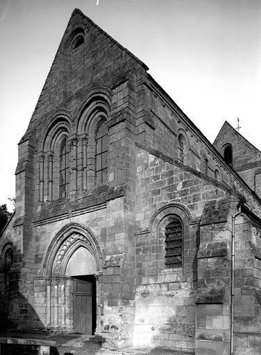 Extérieur, façade ouest