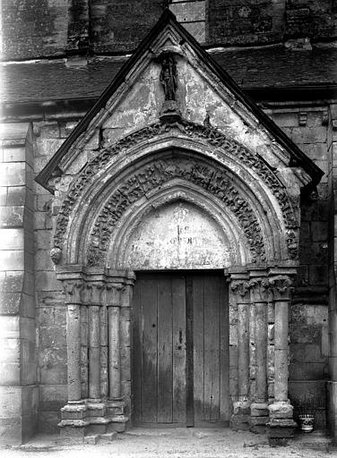 Extérieur, portail latéral sud