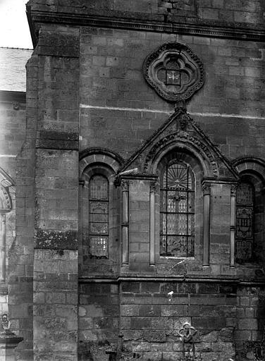 Extérieur, fenêtre du chevet