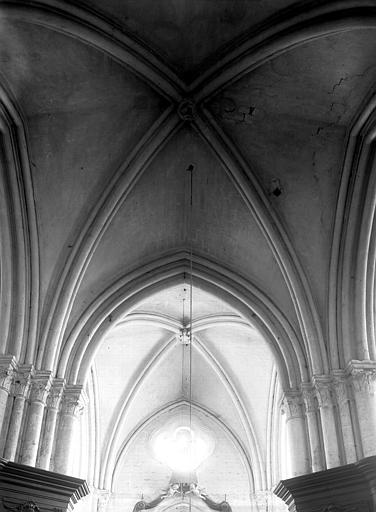 Intérieur, voûtes du transept nord, croisée