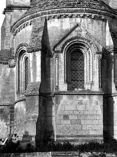 Extérieur, abside, détail