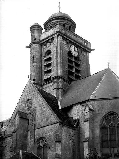 Extérieur, clocher, vue sud-est