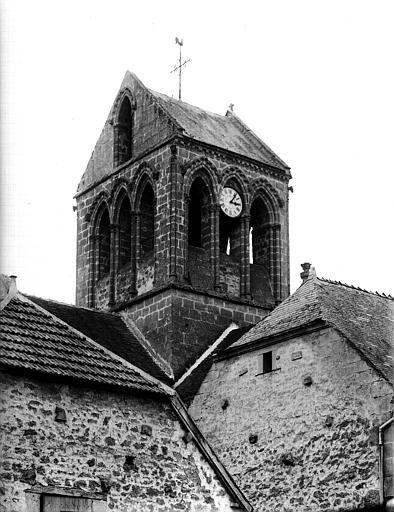Extérieur, clocher
