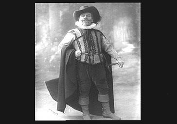 Coquelin aîné, au théâtre dans le rôle de Cyrano