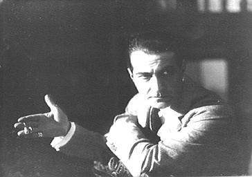 M. Dicky jouant au Théâtre des Nouveautés