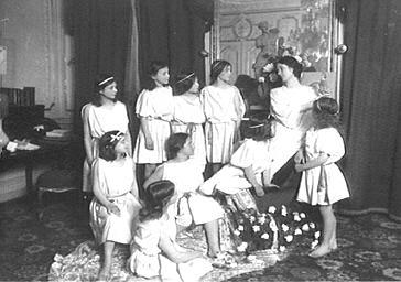 Isadora Duncan sur scène