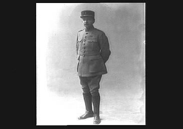 Louis Hachette en uniforme militaire