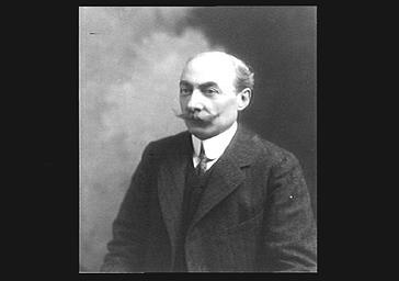 Louis Messager au théâtre de l'Opéra
