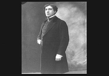 Le chanteur d'opéra Muratore
