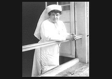La duchesse de Rohan en infirmière