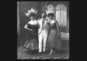 Paul Margueritte et de Mesdemoiselles Gaumont et Tuzot