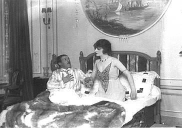 Mme Renouard et Victor Boucher jouant au Théâtre du Palais-Royal