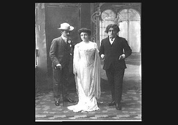 Morel, Ginisty et Bonafy à la Revue Marigny