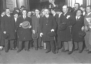 Arrivée de Caillaux à la gare Saint-Lazare