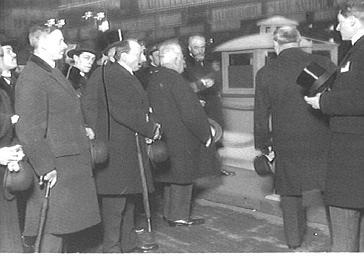 Inauguration de la T.S.F. au Grand-Palais par le président de la République Millerand