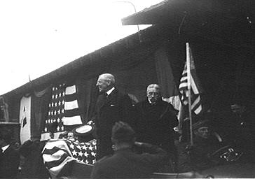 Visite à Paris de Wilson, président des Etats-Unis d'Amérique