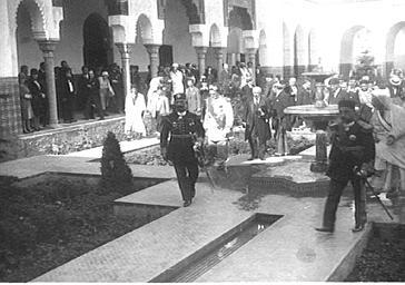 Inauguration de la Mosquée de Paris : Le Bey de Tunis