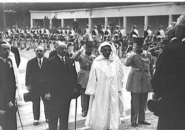 Inauguration de la Mosquée de Paris