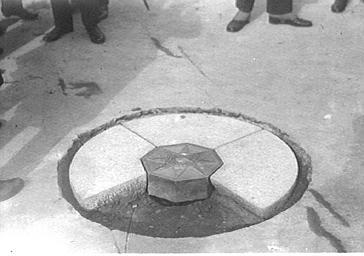 Inauguration de la 'Borne kilométrique'